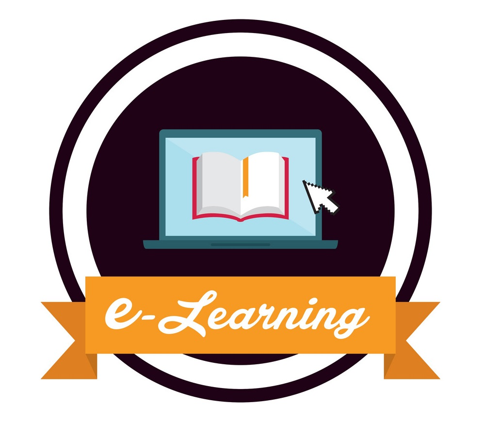 e learning icon design vector 7969321